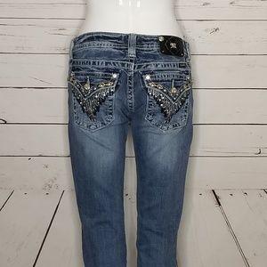 Miss me jeans 28 western bootcut JW5617BV